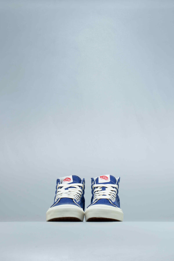 VLT OG SK8-HI LX MENS LIFESTYLE SHOE - BLUE/BONE