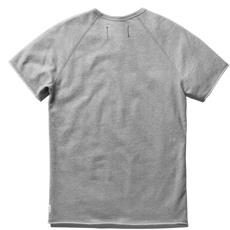 REIGNING CHAMP TERRY SHORT SLEEVE CREW SWEATSHIRT MEN'S - GREY