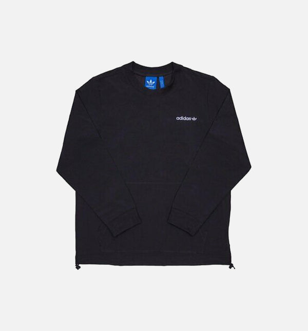 Adidas Nylon Pocket Crew Shirt (Mens) - Black