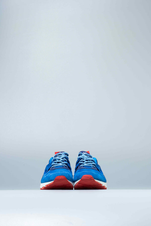 MITA X GEL KAYANO TRAINER MENS SHOE - BLUE/RED