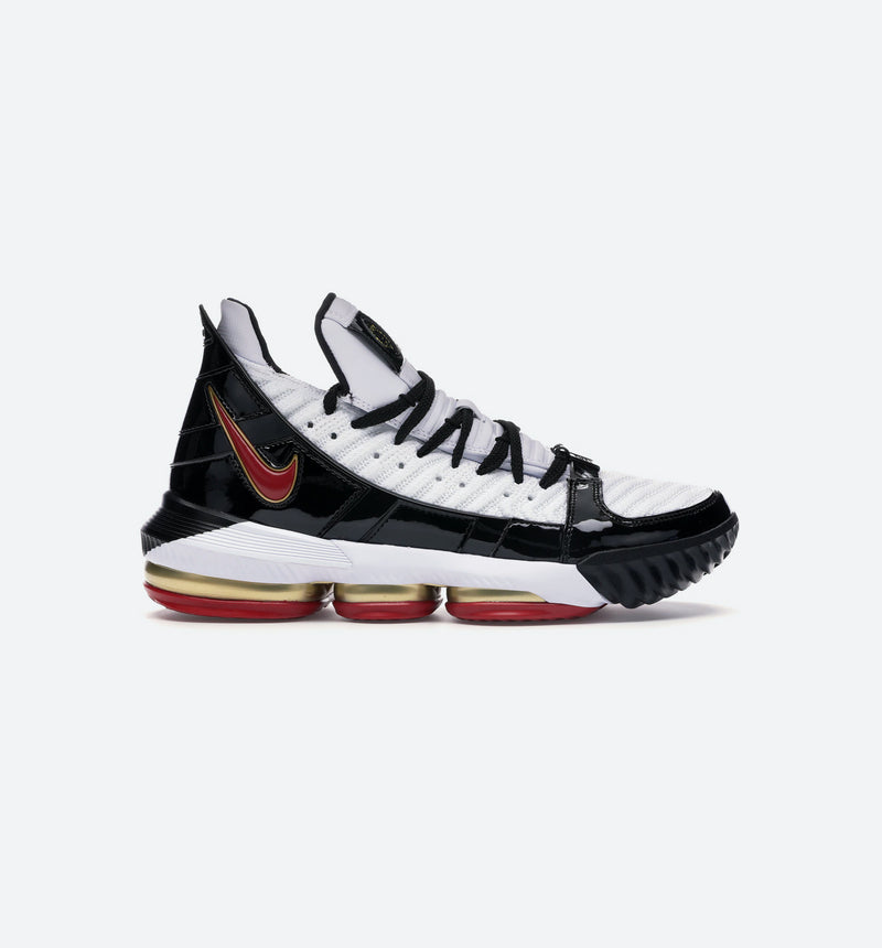 NIKE LEBRON 16 REMIX MENS SHOE - WHITE/BLACK/RED