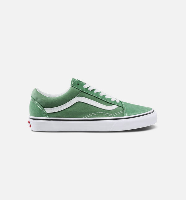 OLD SKOOL MENS SHOE - DEEP GRASS GREEN/WHITE