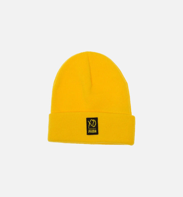 THE WEEKND COLLECTION XO BEANIE - YELLOW/BLACK