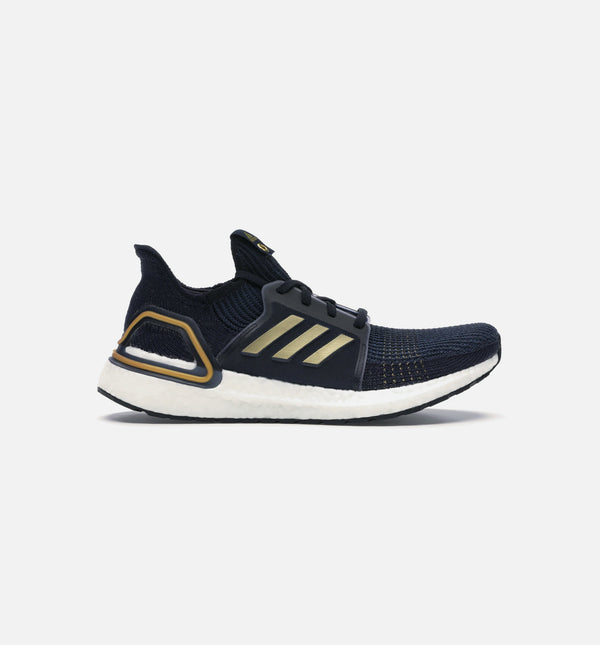 ADIDAS ULTRABOOST 19 MENS RUNNING SHOE - BLACK/GOLD