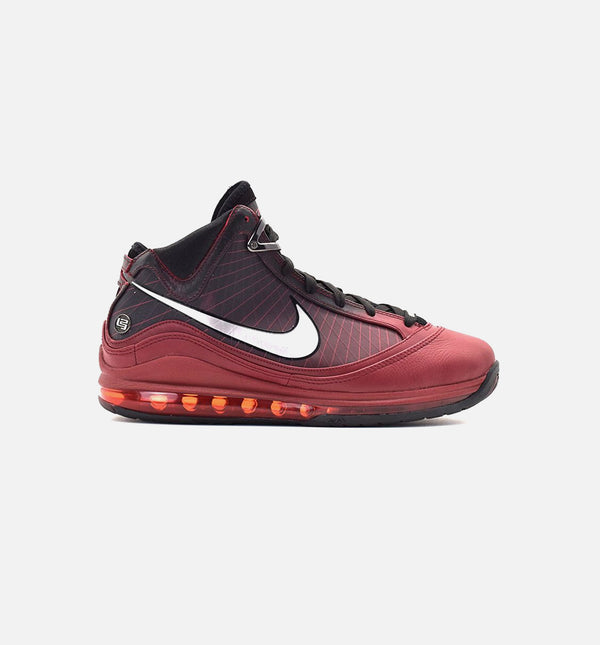 LEBRON 7 CHRISTMAS MENS BASKETBALL SHOE - RED/SILVER/BLACK