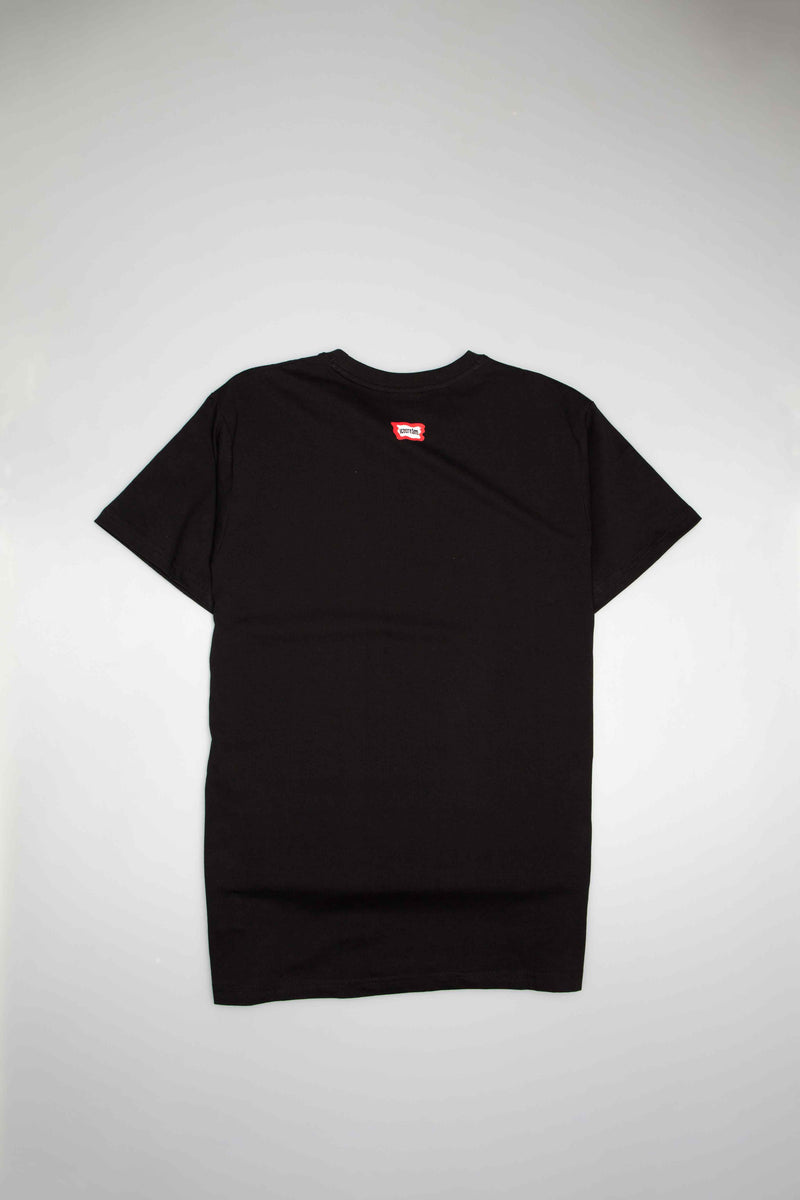 GROSSO KNIT MENS T-SHIRT - BLACK/BLACK
