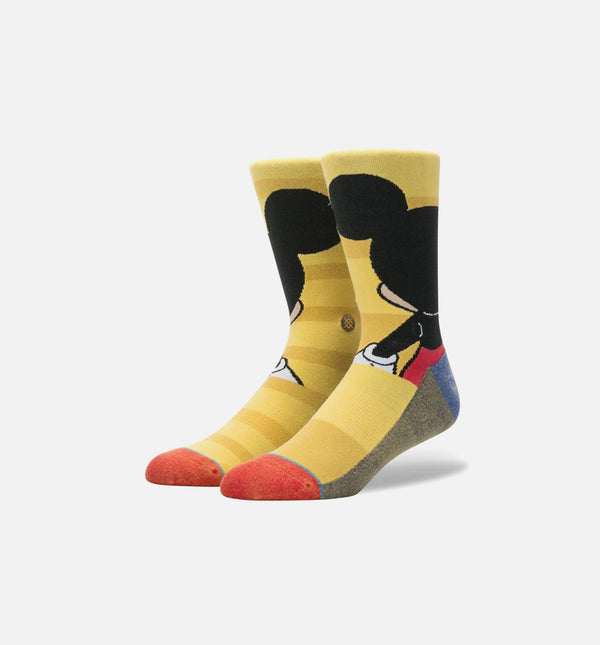 STANCE MICKEY SOCKS MEN'S - YELLOW/BLACK/RED