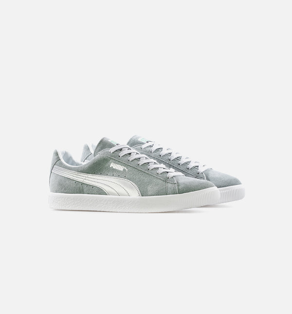 SUEDE VINTAGE MADE IN JAPAN QUARRY SILVER MENS LIFESTYLE SHOE - GREY/SILVER