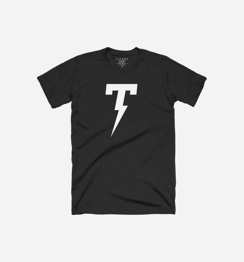 TACKMA THUNDERBOLT TEE MEN'S - BLACK/WHITE