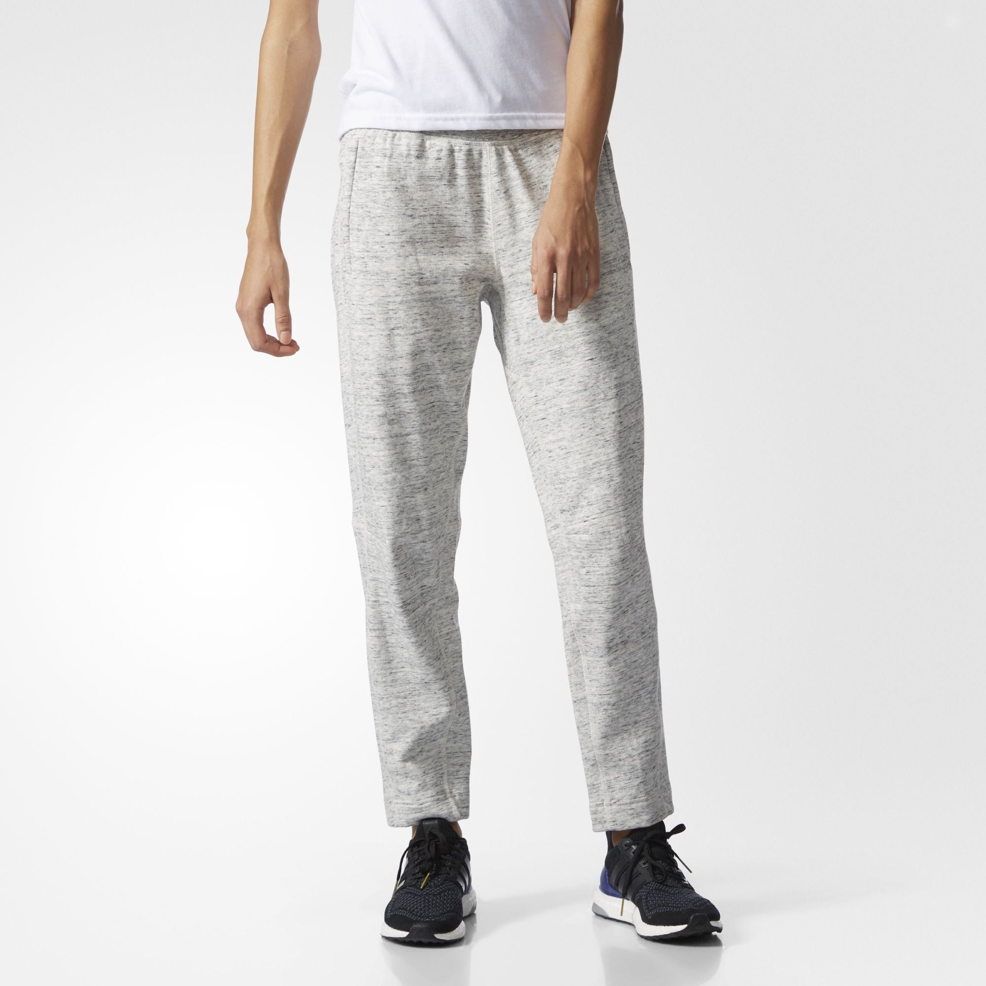 52482e83d ADIDAS ATHLETICS X REIGNING CHAMP FRENCH TERRY PANTS WOMEN S - GREY WHITE