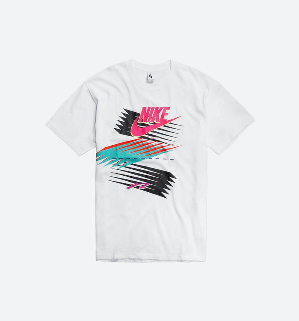 NIKE X NRG ATMOS CU SS T-SHIRT MEN'S - WHITE/MULTI