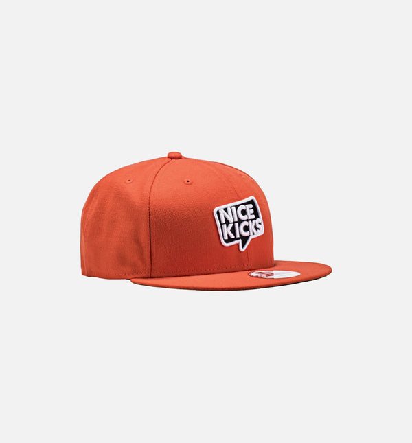 Nice Kicks x New Era Snapback Hat - Giant Orange/Black