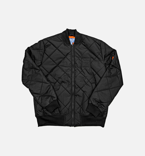 SUPERSTAR BASKETBALL PADDED MENS JACKET - BLACK
