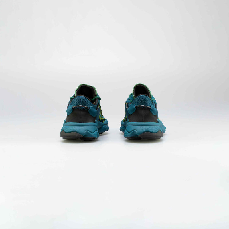 ADIDAS ORIGINALS X PUSHA T OZWEEGO MENS RUNNIG SHOE - NAVY/GREEN/BALCK