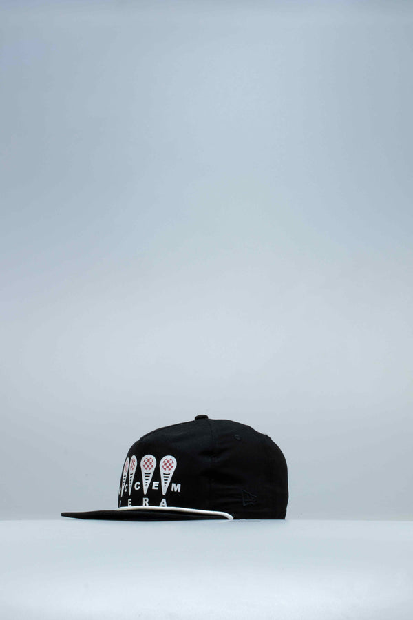 ICE CREAM HAT - BLACK/BLACK