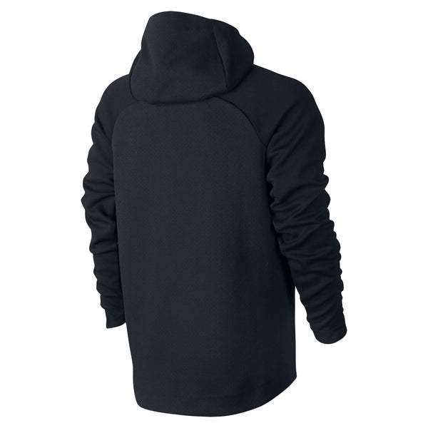 NIKE TECH FLEECE ZIP HOODIE MEN'S - BLACK