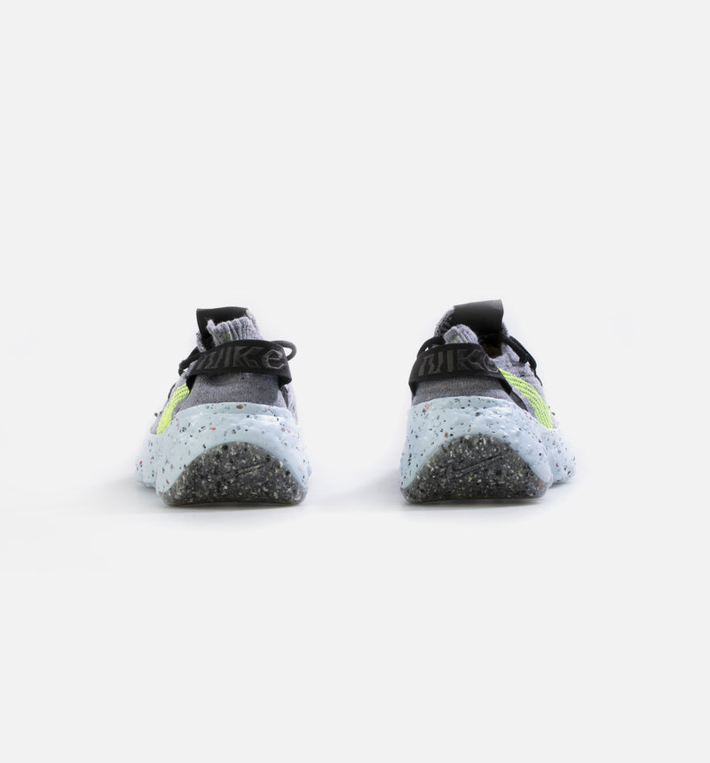 NIKE SPACE HIPPIE WOMENS LIFESTYLE SHOE - GREY/GREEN