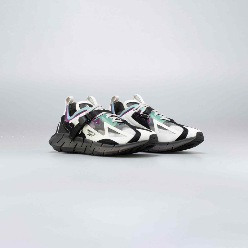 ZIG KINETICA CONCEPT_TYPE1 MENS RUNNING SHOE - GREY/BLACK/PURPLE/GREEN