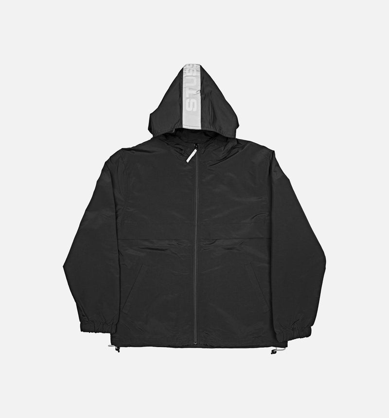 Stüssy Light Nylon Full Zip Mens - Black