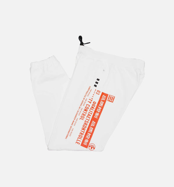 ADIDAS ORIGINAL BY ALEXANDER WANG GRAPHIC MENS JOGGER PANTS - WHITE/RED