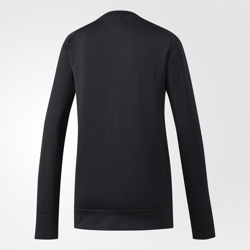 ADIDAS ATHLETICS X REIGNING CHAMP PRIMEKNIT CREW SWEATSHIRT WOMEN'S - BLACK