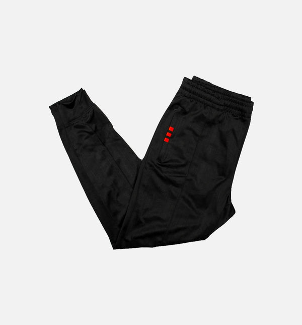 ADIDAS ORIGINALS X ALEXANDER WANG MENS TRACK PANTS - BLACK/RED