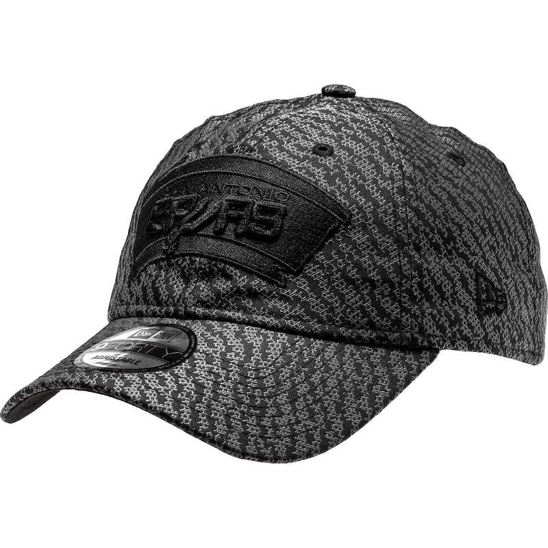NEW ERA SAN ANTONIO SPURS NBA STRAPBACK MEN'S - BLACK/GREY