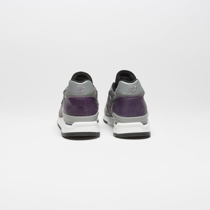 998 USA MENS RUNNING SHOE - PURPLE/GREY