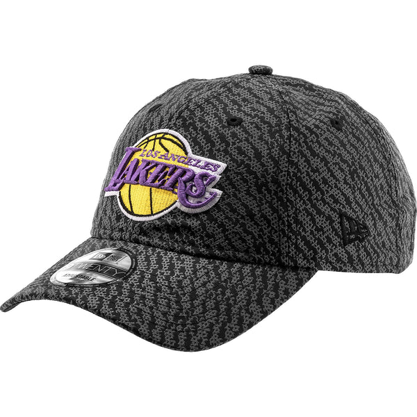 NEW ERA LOS ANGELES LAKERS NBA STRAPBACK MEN'S - BLACK/GREY/YELLOW/PURPLE