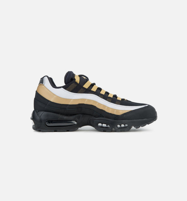 AIR MAX 95 WOMENS SHOE - BLACK/GOLD/WHITE