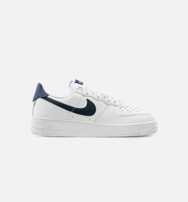 AIR FORCE 1 '07 LOW CRAFT MENS LIFESTYLE SHOE - WHITE/NAVY