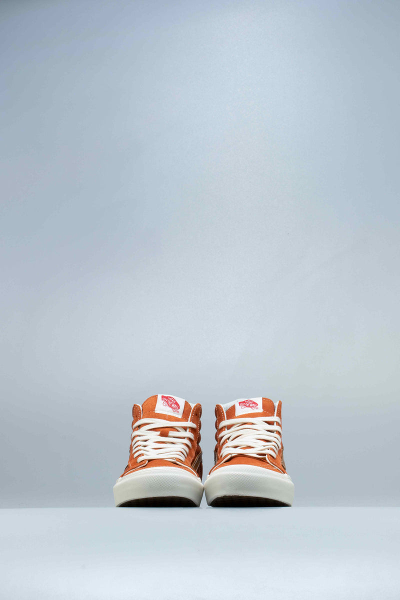 OG SK8 HI LX MENS SHOE - ORANGE/WHITE/BROWN