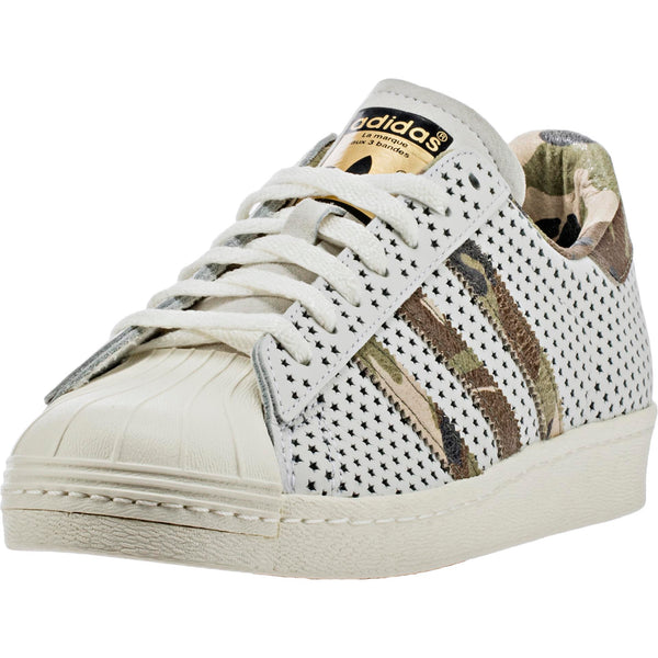 ADIDAS SUPERSTAR 80'S COMPLEX QS MENS SHOE - WHITE/CAMO