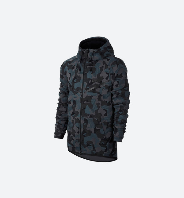 NIKE TECH FLEECE WINDRUNNER MEN'S - ANTHRACITE/BLACK