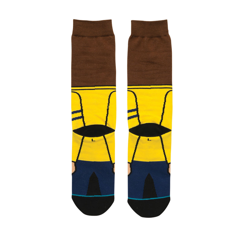 STANCE OSKI MENS CREW SOCKS - GOLD