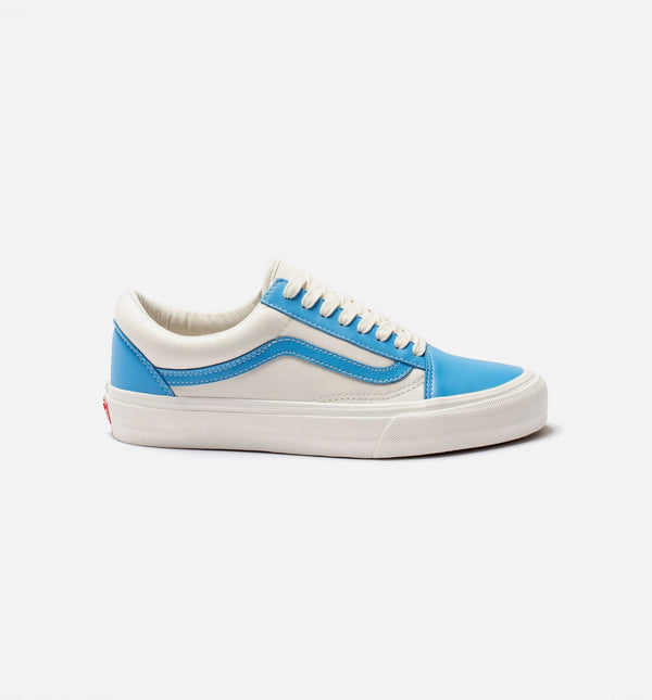 OLD SKOOL VLT LX MENS LIFESTYLE SHOE - BONE/BLUE