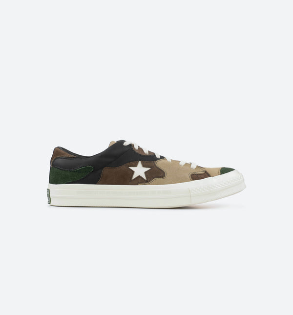SNEAKERSNSTUFF X ONE STAR CAMO MENS SHOE - CAMO/CAMO