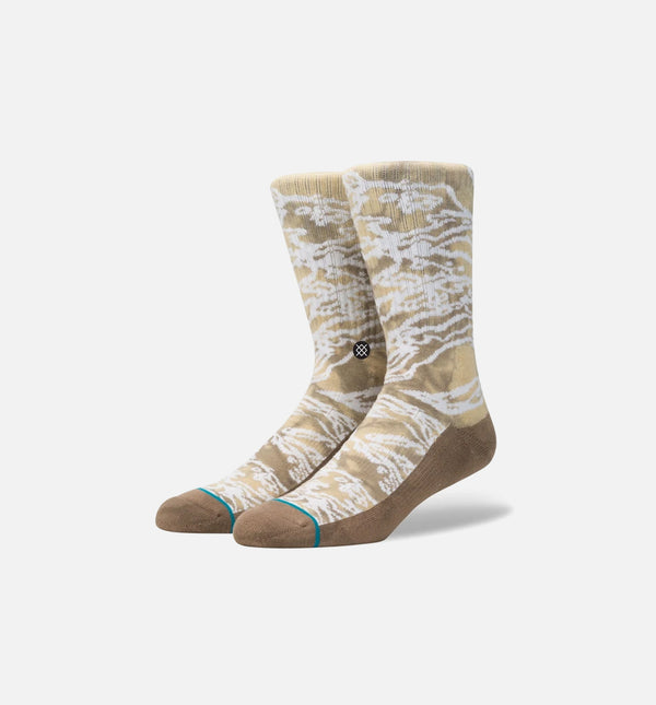 STANCE ENVY SOCKS MEN'S - KHAKI/WHITE