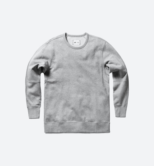 REIGNING CHAMP X ADIDAS FRENCH TERRY CREW LONG SLEEVE MEN'S  - GREY