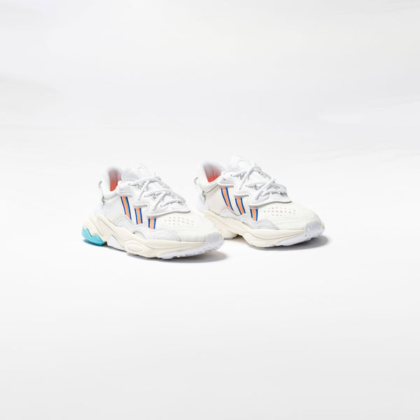 OZWEEGO W WOMENS LIFESTYLE SHOE - WHITE/SIGNAL CORAL/BLUE GLOW
