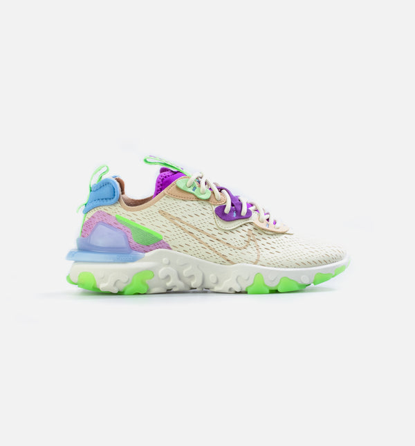NIKE REACT VISION WOMENS LIFESTYLE SHOE - TAN/GREEN