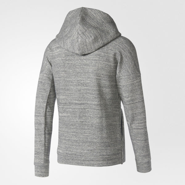 ADIDAS Z.N.E. TRAVEL HOODIE MEN'S - MEDIUM HEATHER GREY