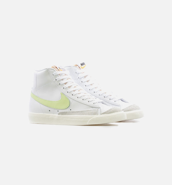 BLAZER MID '77 FOR HER PRODUCTS - WHITE/VOLT
