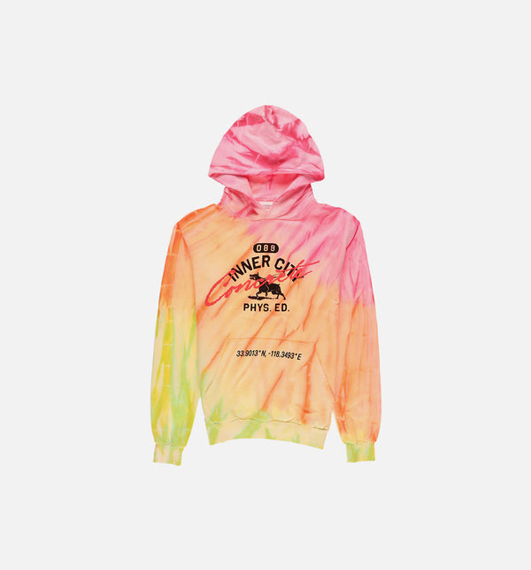 HONOR MASCOT SUNSET MENS PULLOVER HOODIE - WHITE