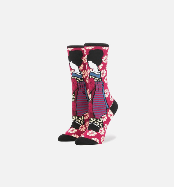"STANCE FENTY GEISHA ""RIHANNA COLLABORATION"" SOCKS - PINK"