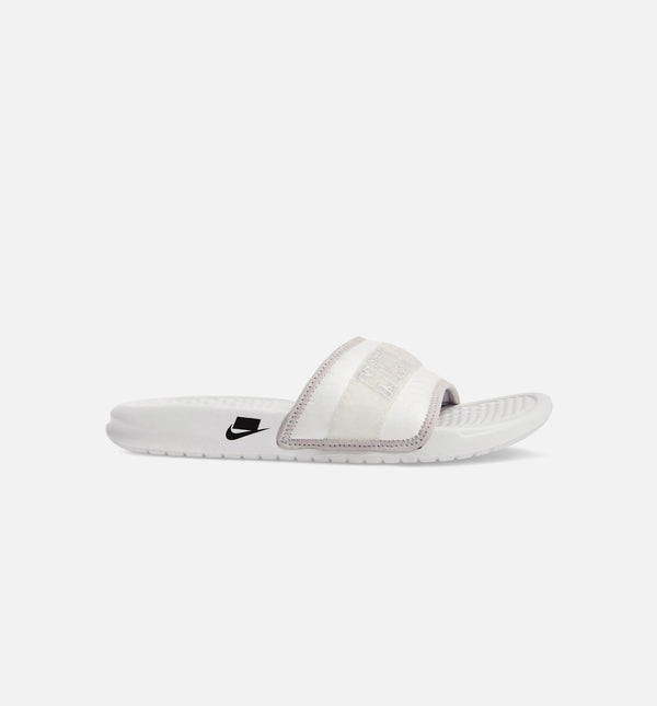 BENASSI JDI MENS SANDAL - WHITE/GREY