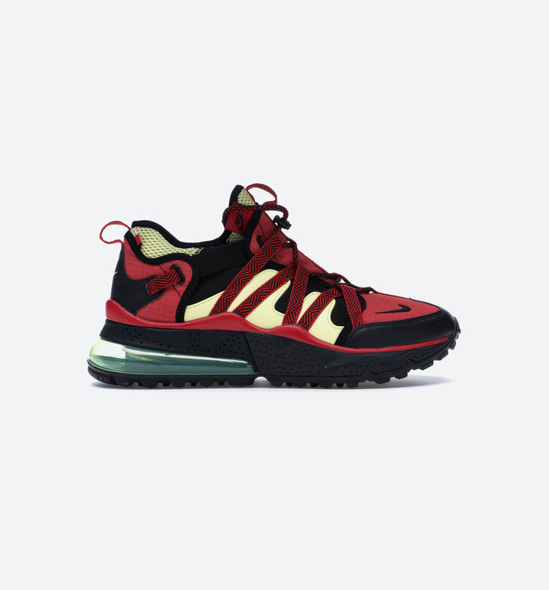AIR MAX 270 BOWFIN MENS SHOE - BLACK/UNIVERSITY RED/LIGHT ZITRON