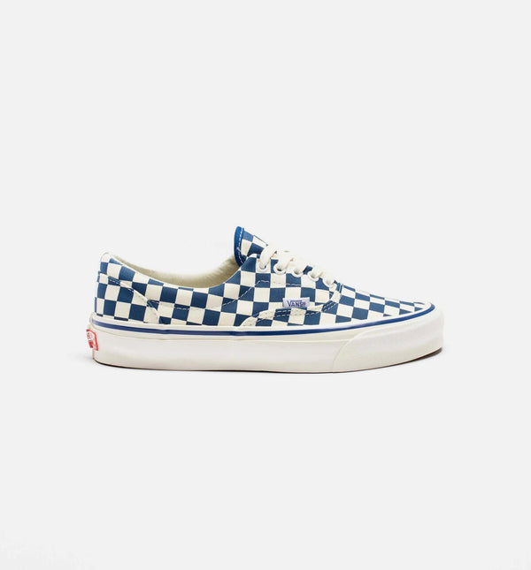 VAULT OG ERA LX CHECKERBOARD MENS LIFESTYLE SHOE - BLUE/WHITE