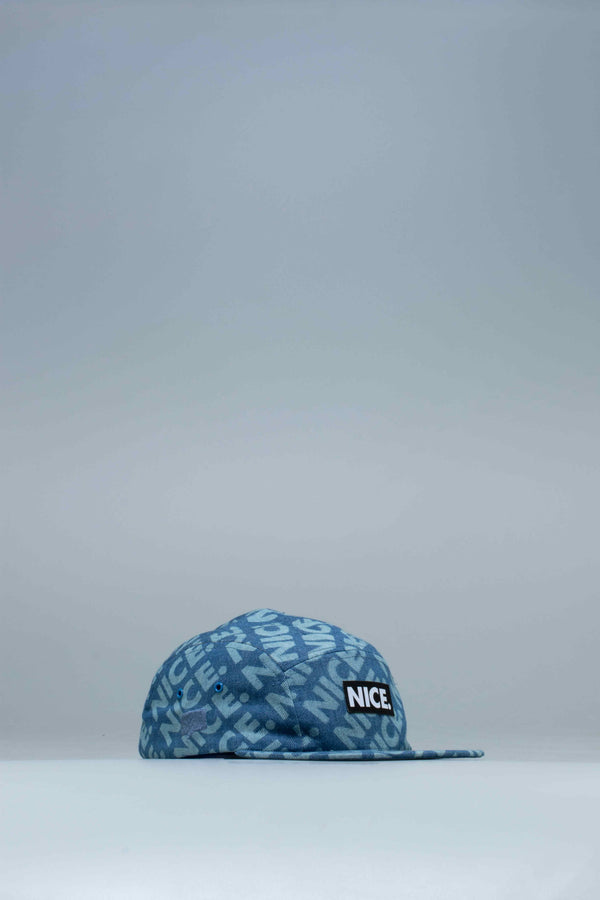 NICE KICKS LIFE HAT - BLUE/BLUE