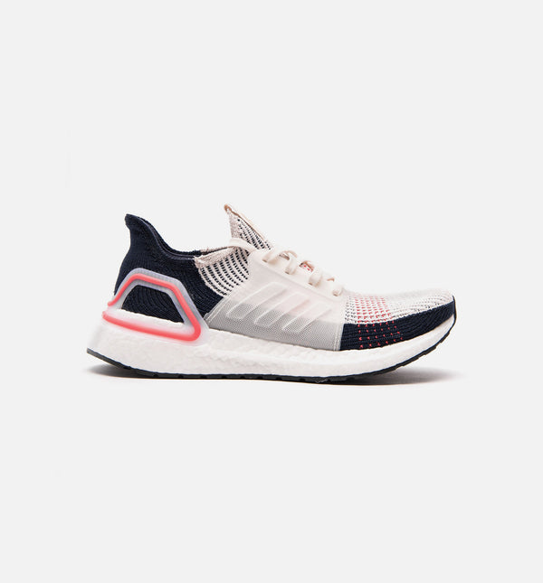 ULTRABOOST 19 WOMENS SHOE - CLEAR BROWN/CLOUD WHITE/LEGEND INK